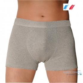 Intraversable incontinence boxer briefs