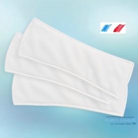 lote de 3 almohadillas de incontinencia intraversibles de bambú ligero para mujeres fabricadas en Francia