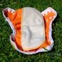 Inserción de algodón orgánico recién nacido capa TE2