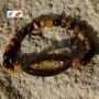 bracelet oeil de tigre citrine t bois patikan et wengé, protection et chaleu