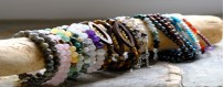 artisanal and original creation of natural costume jewelry